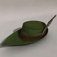 hunters hood 3d model