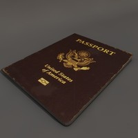 passport documentary 3d model