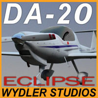 plane exterior diamond eclipse 3ds