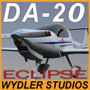 plane exterior diamond eclipse 3ds