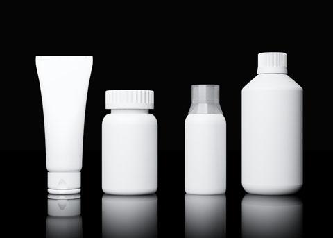 3d model plastic bottles