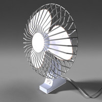 table fan obj