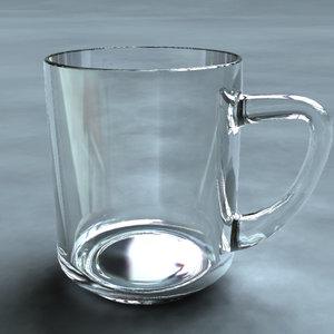 maya glass simple
