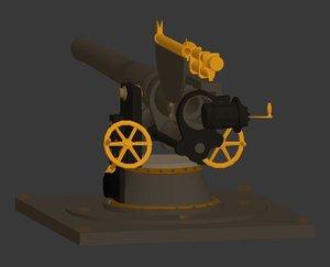 free max model deck gun submarine
