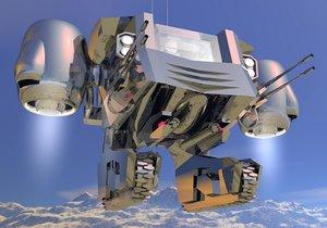 3d model of jet pack