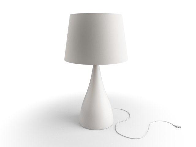 3d model lamp design