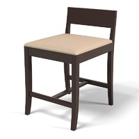 Promemoria Bar Stool Chair Low Marella Scranno