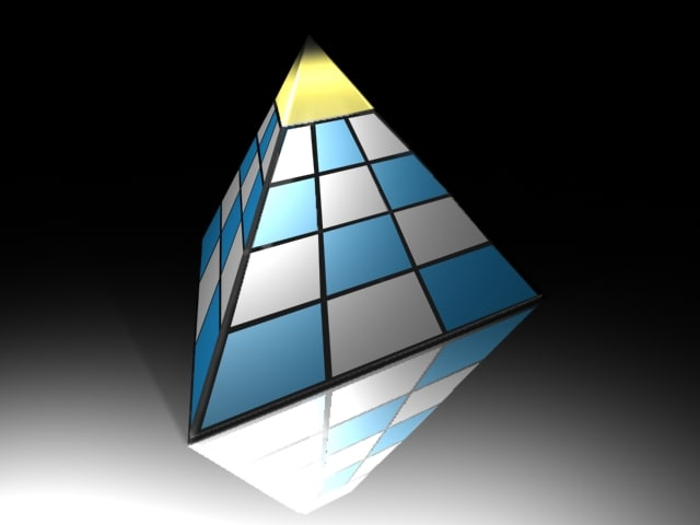sided pyramid 3d 3ds