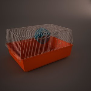 3d cage hamster