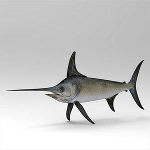 fish shark 3d model
