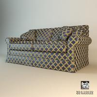 sofa ceppi 3d model
