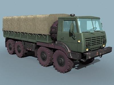 maya soviet cargo truck ural-5323