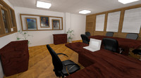 office room design 3d max