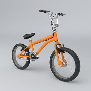freestyle bike 3d model