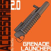 3d m203 grenade launcher