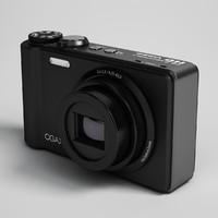 3d model digital camera