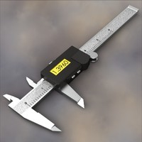 Digital Measuring Caliper, six-inch