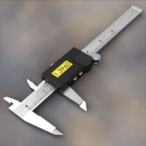 3d digital measuring caliper six-inch