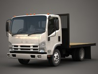 Isuzu N-Series flatbed
