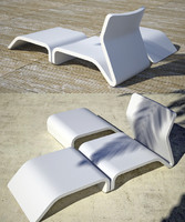 Clip chair+table