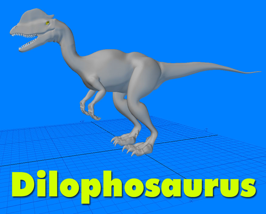 dilophosaurus lwo