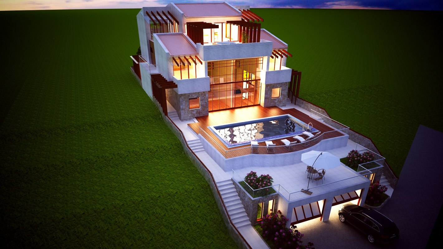 architecture vray max