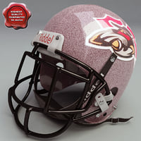 3d model football helmet