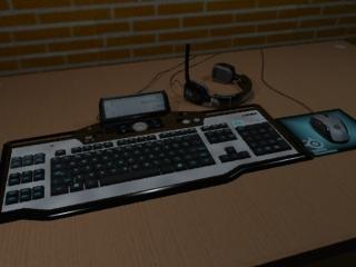 gaming set 3d model
