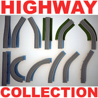 highway v2 3d model