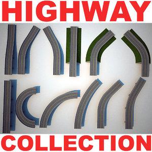 highway v2 3d model