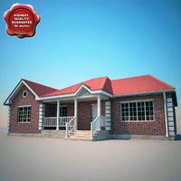 house 08 3d model