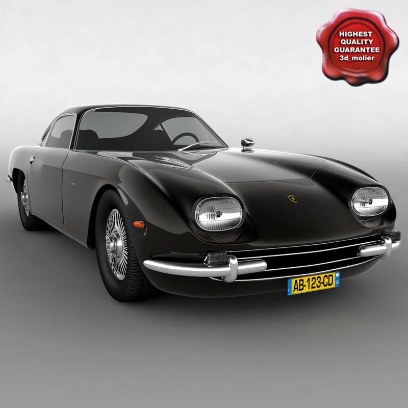 lamborghini-350 gt 1964 3d model