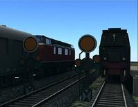 3d railway signal