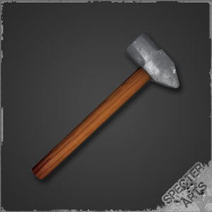 impact sledge hammer cross 3ds