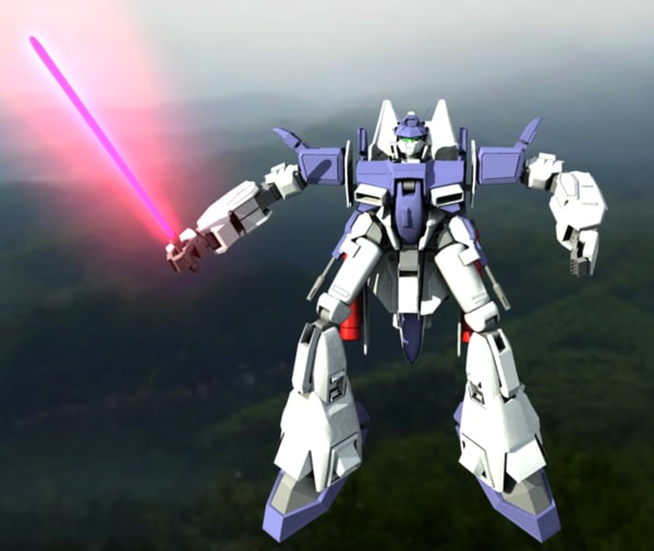 mobile suite gundam 3d model