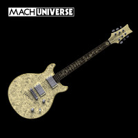 stardust elite venus guitar 3d model