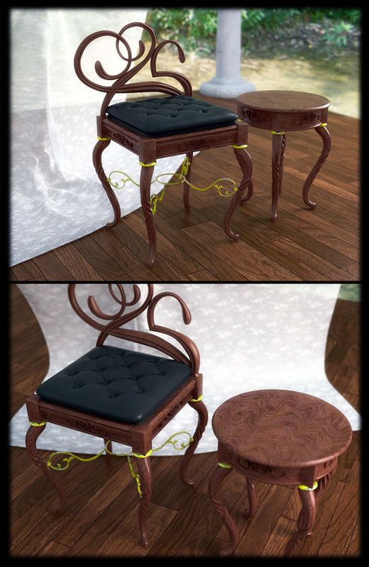 maya classic coffee table chair