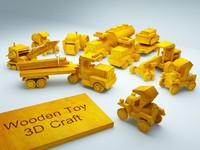 3d model vehicle toys