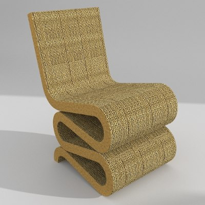3d wiggle chair
