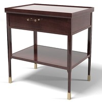 Baker Night Stand side table