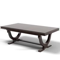 baker barbara barry modern contemporary rectangular dining table 3436