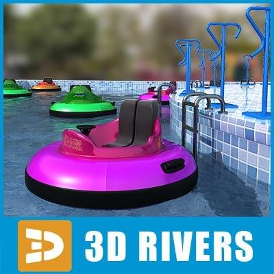 bumper boats 3d 3ds