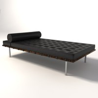 Mies Van Der Rohe Barcelona Day Bed