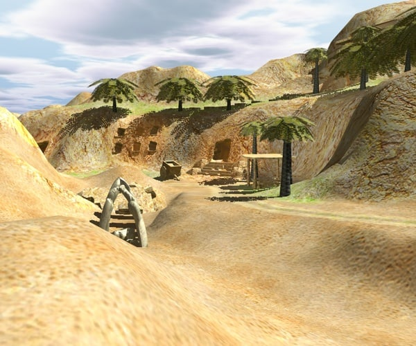 cavern valley cave 3d 3ds