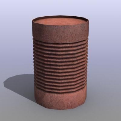 3ds old barrel
