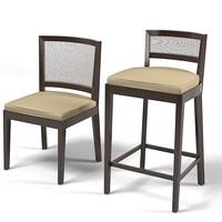 Promemoria CAFFE Barstool modern contemporary bar stool chair