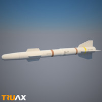 aa missile 3d model