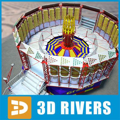 rotor ride 3d model
