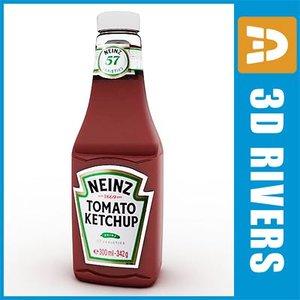 3d model tomato sauces