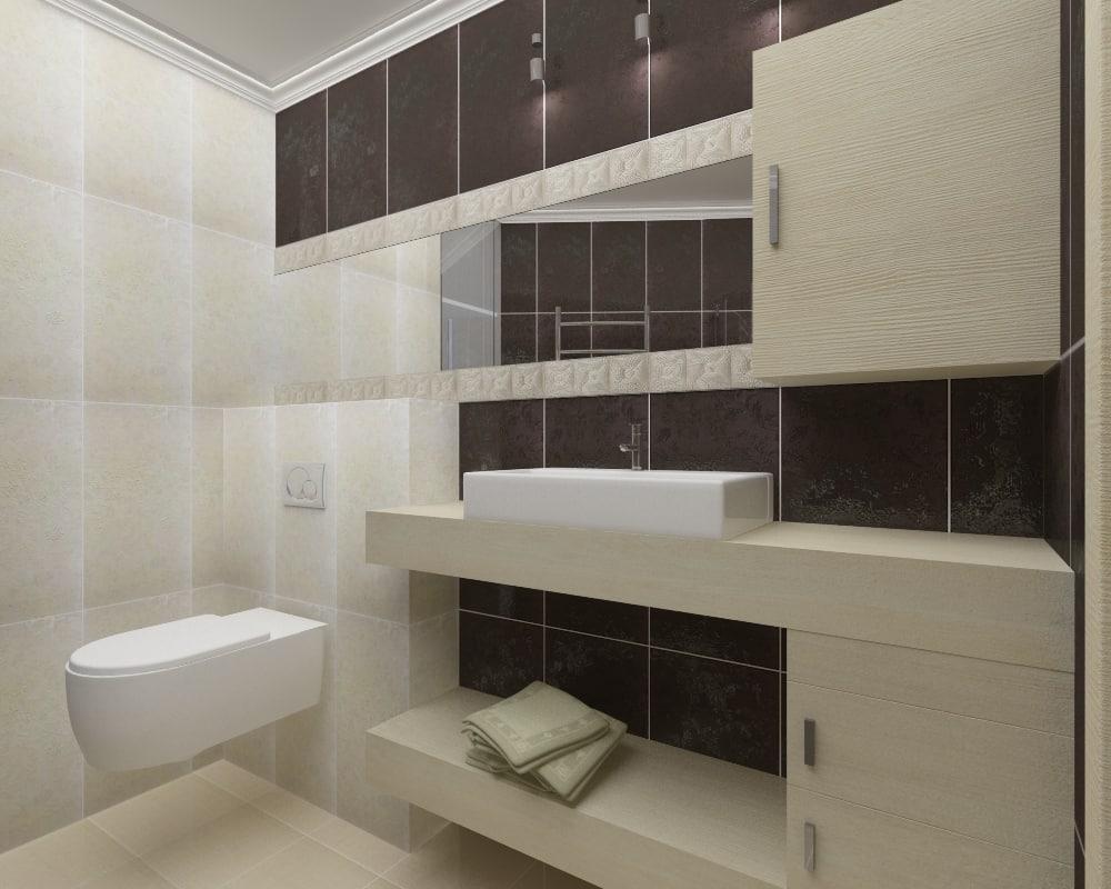 wc - bathroom scene 3d max